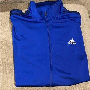 Men's Adidas Zip Up Track Suit Jacket